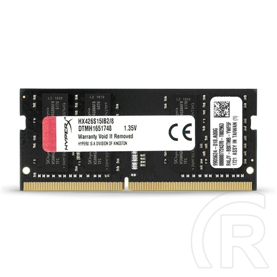16 GB DDR4 2666 MHz SODIMM RAM Kingston HyperX Impact Black