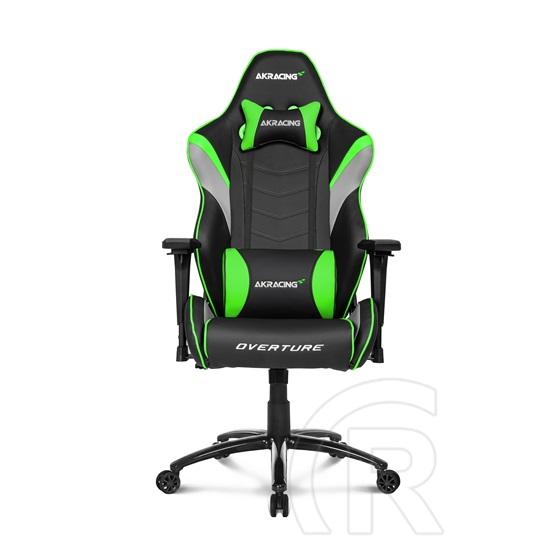AKRacing Overture Gaming szék (fekete kék) Rufusz webáruház