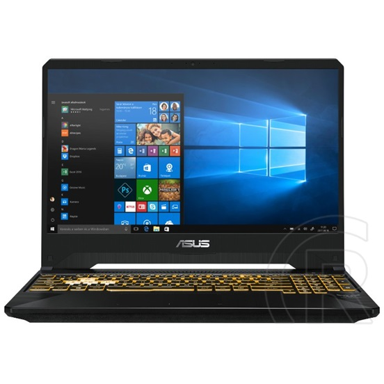 "Asus TUF Gaming FX505GE (15,6"", Intel Core i7-8750H, 8 GB RAM, 256 GB SSD, nVidia GTX1050 Ti 4 GB VGA, Win 10, metal)"