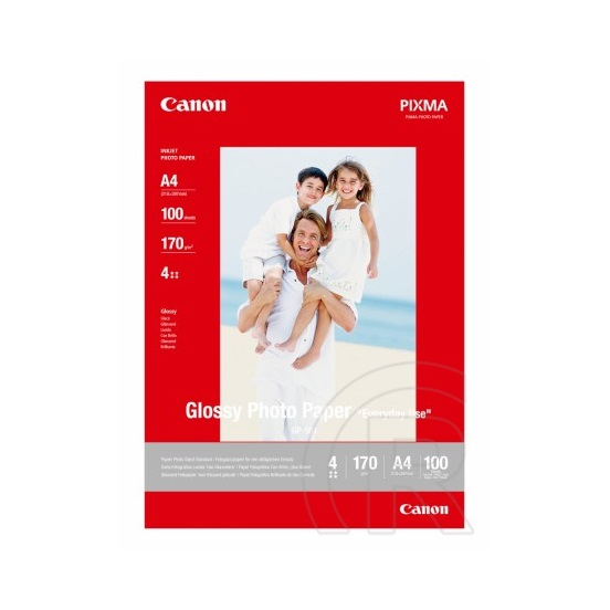 Canon GP-501A Glossy Photo Paper (A4, 100 lap, 210 g)