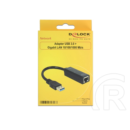 Delock USB 3.0 - Gigabit Ethernet adapter