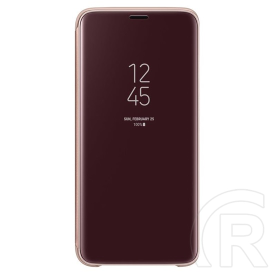 Samsung S9 Clear View Standing Cover tok (arany)